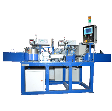 ball plug pin press & leak testing machines